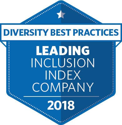 Diversity Best Practices Leading Inclusion Index badge